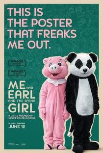 Eu, Você e a Garota Que Vai Morrer - Poster / Capa / Cartaz - Oficial 4
