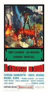 O Colosso de Rodes - Poster / Capa / Cartaz - Oficial 6