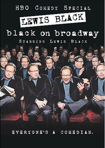 Lewis Black - Black On Broadway - Poster / Capa / Cartaz - Oficial 1