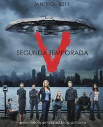 V – Visitors (2ª Temporada) - Poster / Capa / Cartaz - Oficial 2