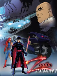 Zorro: Geração Z - Poster / Capa / Cartaz - Oficial 1