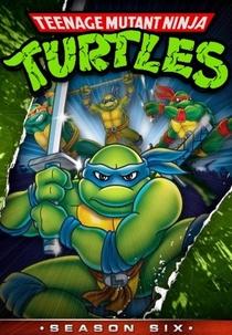 As Tartarugas Ninja (6ª Temporada) - Poster / Capa / Cartaz - Oficial 1