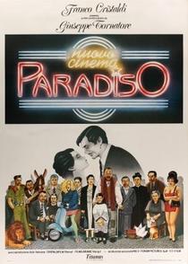 Cinema Paradiso - Poster / Capa / Cartaz - Oficial 4