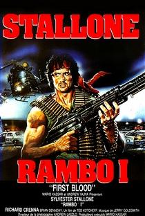 Rambo: Programado Para Matar - Poster / Capa / Cartaz - Oficial 3