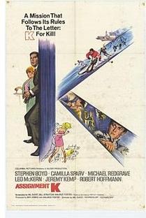 Missão Secreta K - Poster / Capa / Cartaz - Oficial 1