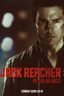 Jack Reacher: Sem Retorno - Poster / Capa / Cartaz - Oficial 3