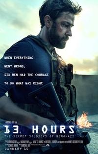 13 Horas - Os Soldados Secretos de Benghazi - Poster / Capa / Cartaz - Oficial 2