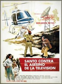 Santo Contra el Asesino de la T.V. - Poster / Capa / Cartaz - Oficial 1