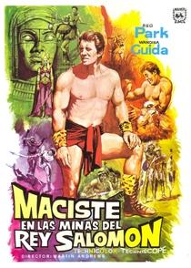 Maciste nas Minas do Rei Salomão - Poster / Capa / Cartaz - Oficial 2