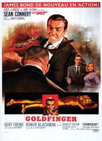 007 - Contra Goldfinger - Poster / Capa / Cartaz - Oficial 7