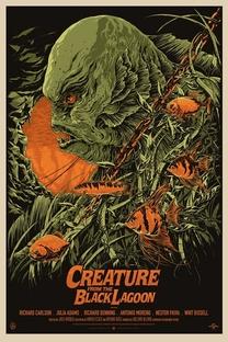 O Monstro da Lagoa Negra - Poster / Capa / Cartaz - Oficial 3
