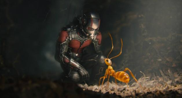 Homem-Formiga mantém primeiro lugar nas bilheterias americanas