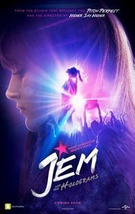 Jem e as Hologramas - Poster / Capa / Cartaz - Oficial 4