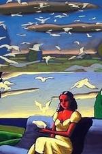 A jovem e as nuvens - Poster / Capa / Cartaz - Oficial 1