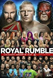 WWE Royal Rumble 2018 - Poster / Capa / Cartaz - Oficial 1