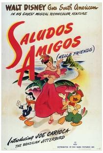 Alô Amigos - Poster / Capa / Cartaz - Oficial 1