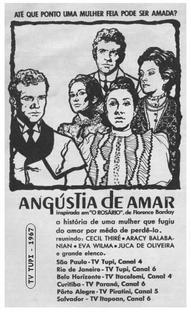 Angústia de Amar - Poster / Capa / Cartaz - Oficial 1