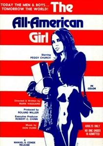 The All-American Girl - Poster / Capa / Cartaz - Oficial 1