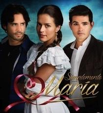 Simplemente María - Poster / Capa / Cartaz - Oficial 1