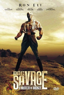 Doc Savage: O Homem de Bronze - Poster / Capa / Cartaz - Oficial 2