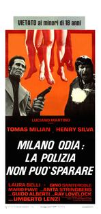 Milano Odia: La Polizia Non Può Sparare - Poster / Capa / Cartaz - Oficial 1