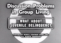 What About Juvenile Delinquency? - Poster / Capa / Cartaz - Oficial 1