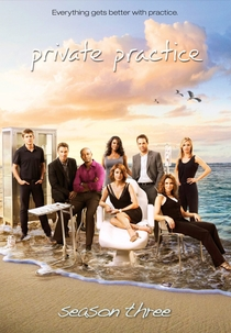 Private Practice (3ª Temporada) - Poster / Capa / Cartaz - Oficial 1