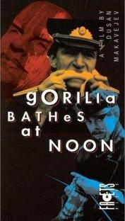 O Gorila se Banha ao Meio-Dia - Poster / Capa / Cartaz - Oficial 1