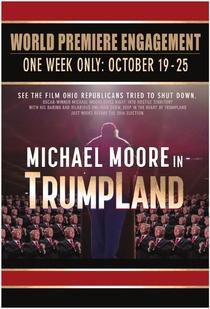 Michael Moore in TrumpLand - Poster / Capa / Cartaz - Oficial 2