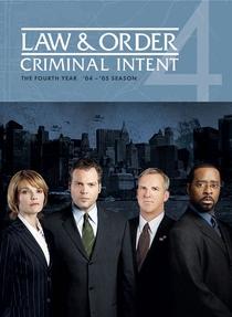 Lei & Ordem: Criminal Intent (4ª Temporada) - Poster / Capa / Cartaz - Oficial 1