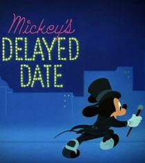 Mickey's Delayed Date - Poster / Capa / Cartaz - Oficial 3