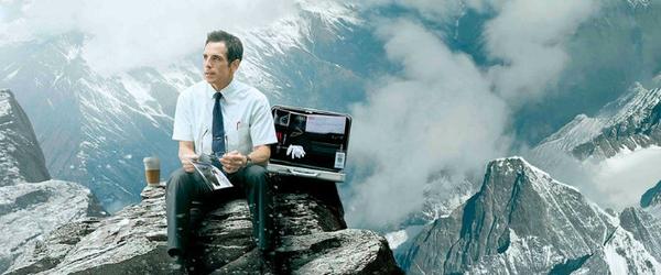 "Ben Stiller em outro pôster curioso de ""The Secret Life of Walter Mitty"""
