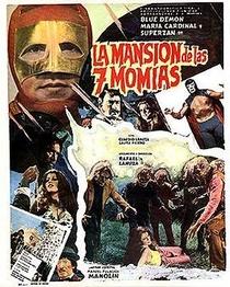 La Mansion de las 7 Momias - Poster / Capa / Cartaz - Oficial 1
