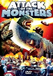 A Batalha dos Monstros - Poster / Capa / Cartaz - Oficial 1