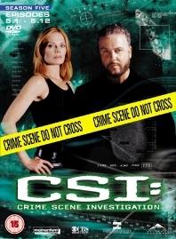 CSI: Investigação Criminal (5ª Temporada) - Poster / Capa / Cartaz - Oficial 1