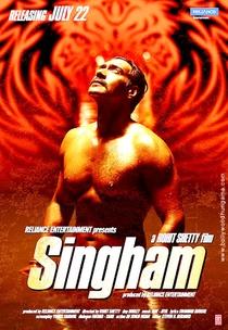 Singham - Poster / Capa / Cartaz - Oficial 4