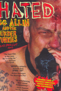 Hated: GG Allin and the Murder Junkies - Poster / Capa / Cartaz - Oficial 1