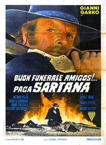 Bom Funeral, Amigos!... Paga Sartana - Poster / Capa / Cartaz - Oficial 2