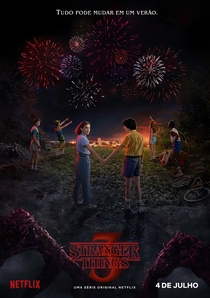 Stranger Things (3ª Temporada) - Poster / Capa / Cartaz - Oficial 1