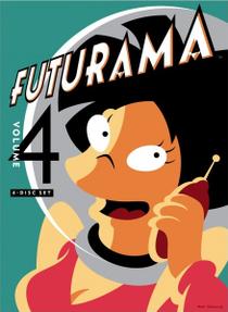 Futurama (4ª Temporada) - Poster / Capa / Cartaz - Oficial 3