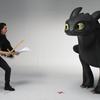 Kit Harington & Banguela interagem em vídeo de Como Treinar o Seu Dragão 3