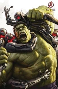 Vingadores: Era de Ultron - Poster / Capa / Cartaz - Oficial 8