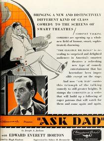 Ask Dad - Poster / Capa / Cartaz - Oficial 1