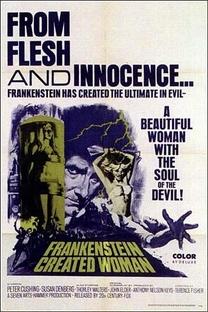 Frankenstein Criou a Mulher - Poster / Capa / Cartaz - Oficial 2