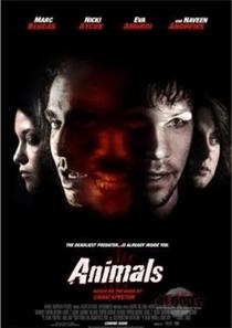 Animals - A Natureza Humana  - Poster / Capa / Cartaz - Oficial 1