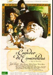 O Caçador de Esmeraldas - Poster / Capa / Cartaz - Oficial 1