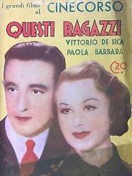 Questi Ragazzi - Poster / Capa / Cartaz - Oficial 1