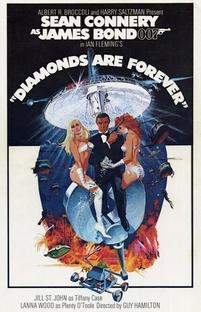 007 - Os Diamantes são Eternos - Poster / Capa / Cartaz - Oficial 3