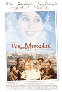 Chá com Mussolini - Poster / Capa / Cartaz - Oficial 1