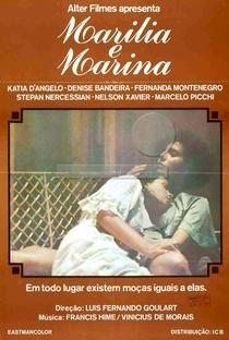 Marília e Marina - Poster / Capa / Cartaz - Oficial 1